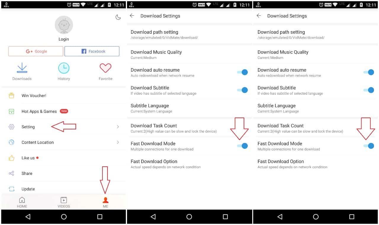 Vidmate - Speed Up Downloads In Vidmate Apk App